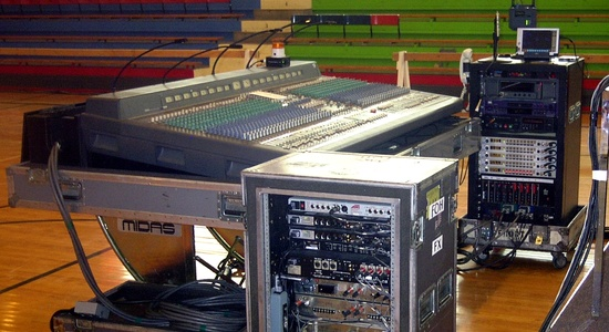 An Arsenal of Audio Equipment To Be Used For Your Event  <br> Stylus Technologies, Bluffton, Indiana