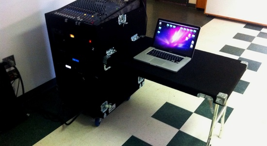 First Church of Christ: Portable Sound Command Center <br>Stylus Technologies, Bluffton, Indiana