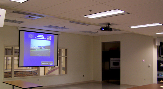 School Audio Video Install<br> Stylus AV Technologies, Bluffton, Indiana
