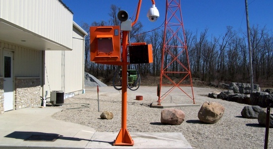 Security and Surveillance Install <br> Stylus AV Technologies, Bluffton, Indiana