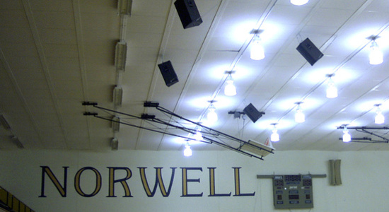 Wells County School Sound System Solutions<br> Stylus AV Technologies, Bluffton, Indiana