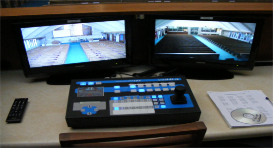 Church Video Cameras /w Control Center<br> Stylus Technologies, Bluffton, Indiana